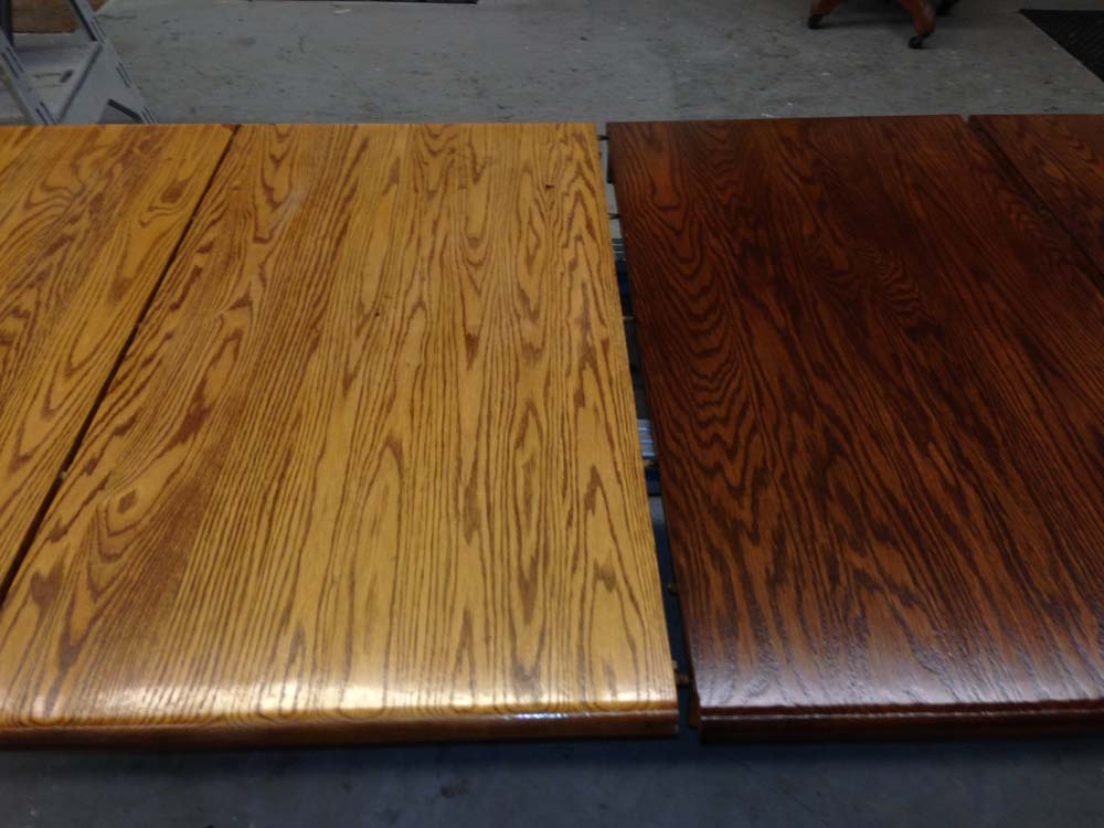 Cabinet (Table) Refinishing Services