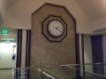 RBC Faux Finish Clock Wall