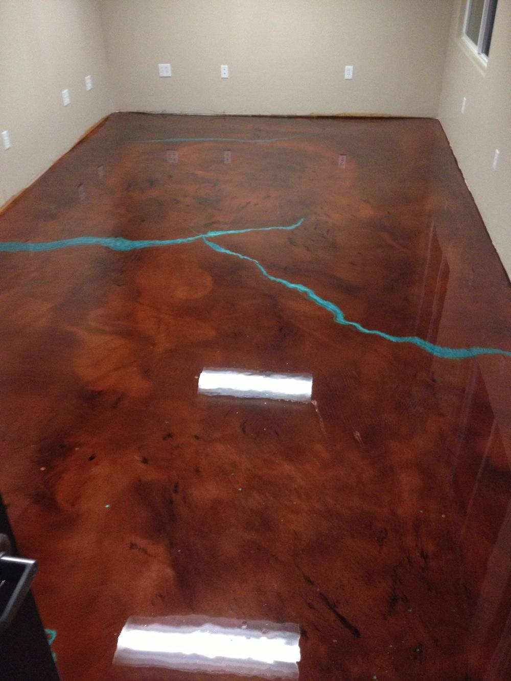 Epoxy Floor (G&S Construction)
