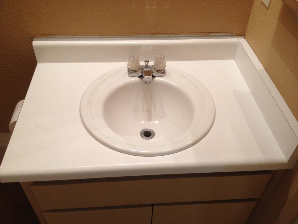 Sink Painting Services Before