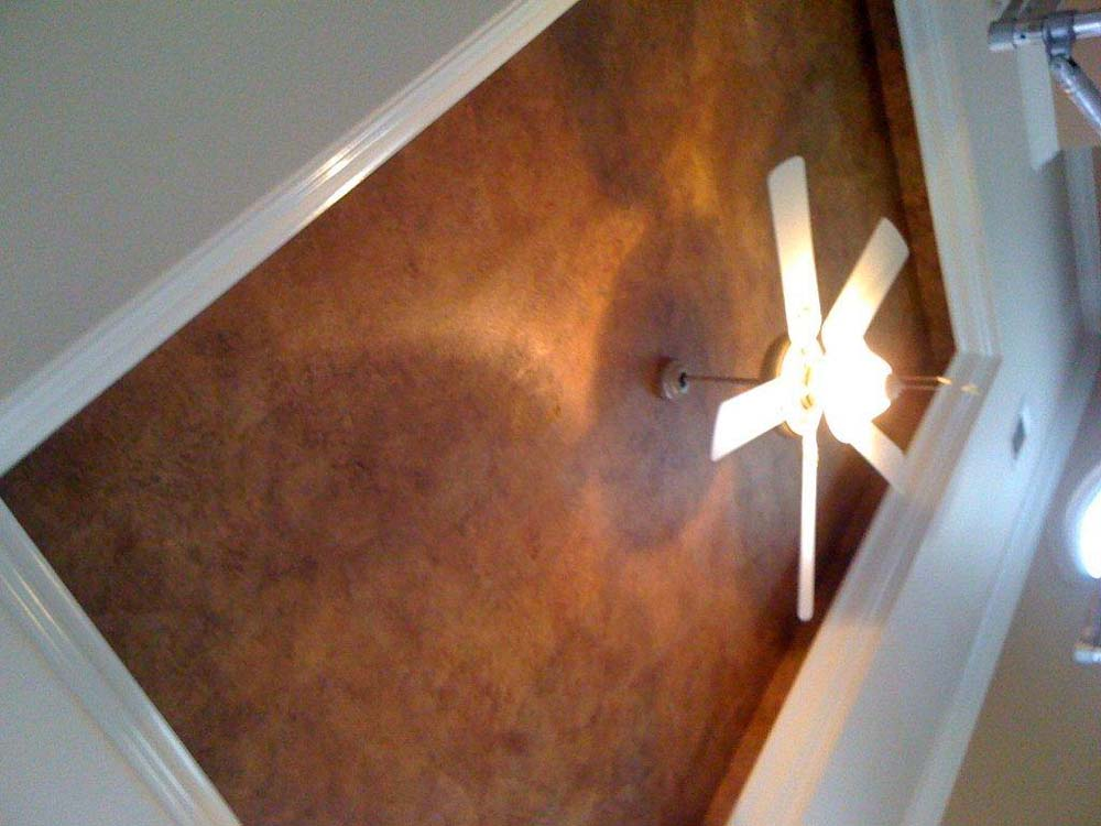 Ceiling Custom Painted Wallpaper
