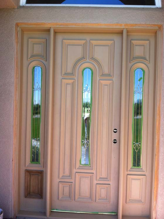 Door Painting Services Before