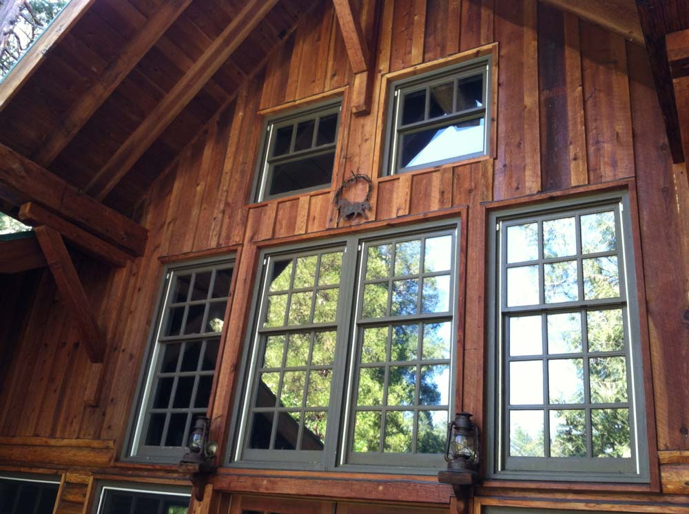 Exterior Residential Wood Refinishing After