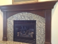 Fireplace Mantle Painting Services After