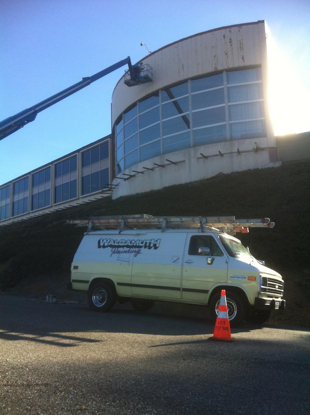 Shasta Dam Upper Vista House (contractor Shufelberger Construction)