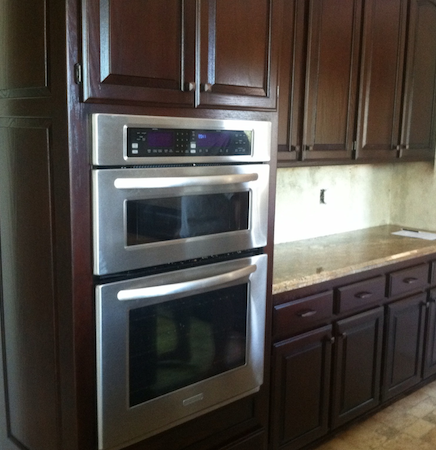 Cabinet Repainting Services
