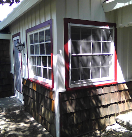 Exterior Window Painting
