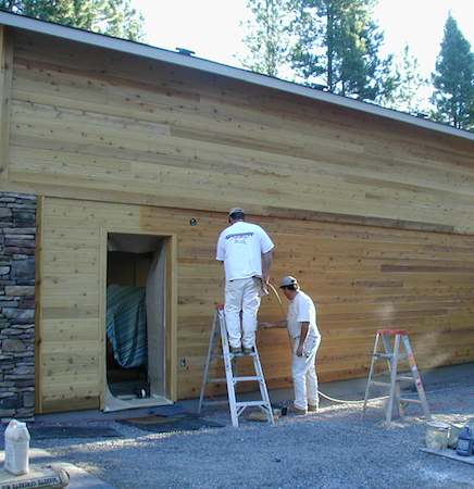 Exterior Wood Refinishing