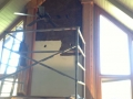Interior Faux Finishes Fireplace In Process