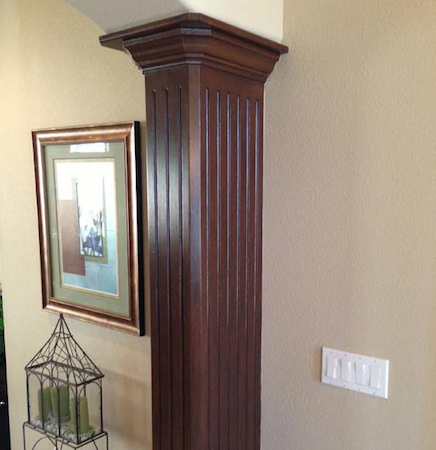 Faux Column Painting